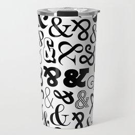 Ampersands on Ampersands Travel Mug