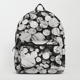 Points of Interest (B/W) Backpack