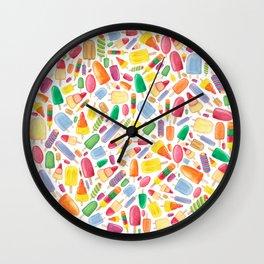 Ice Lolly.  Wall Clock