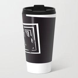 The Black Collection' Vertigo Metal Travel Mug