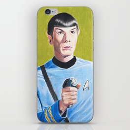 Spock iPhone Skin