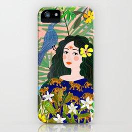 Boho Lady iPhone Case