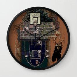 BALL IS LIFE Wall Clock