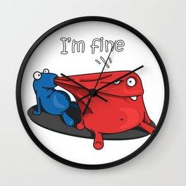 I'm fine Wall Clock