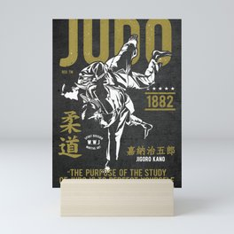 Judo, Jigoro Kano Quote Mini Art Print