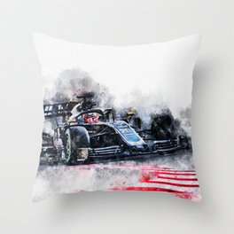 Kevin Magnussen 2019 Throw Pillow