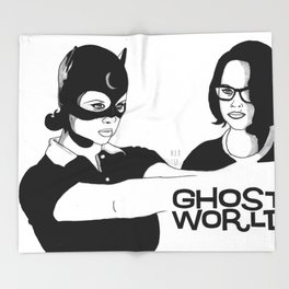 Ghost World Throw Blanket