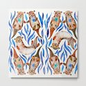 Five Otters – Blue Palette by catcoq