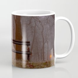 Forest park at night Coffee Mug