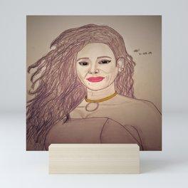 Mel B by Double R Mini Art Print