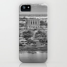 Guayaquil Aerial View from Window Plane iPhone Case