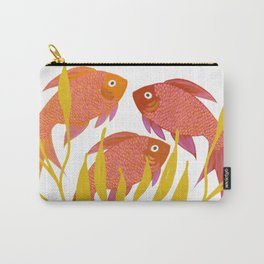 Goldfish Are Flowers Carry-All Pouch