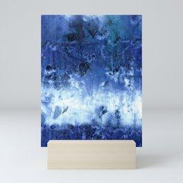 Saltwater Silk Blue Mini Art Print