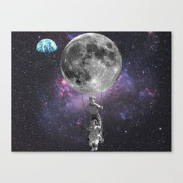 Let me take you to the furthest star Canvas Print