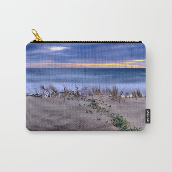 Windy sunset. Sea dreams.... Carry-All Pouch