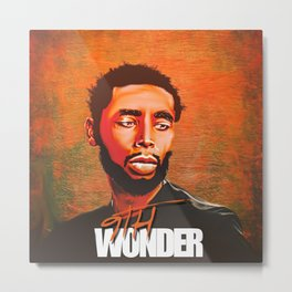 9th WONDER---ART Metal Print