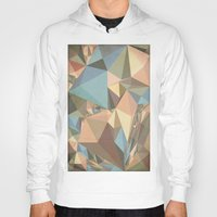 renaissance Hoodies featuring Renaissance Triangle Pyramids by Kanika Mathur Design