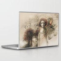 storm Laptop & iPad Skins featuring Storm.  by Iris V.