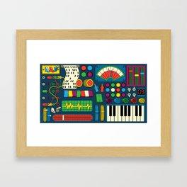 Magical Music Machine Framed Art Print