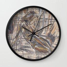 God created Woman Wall Clock