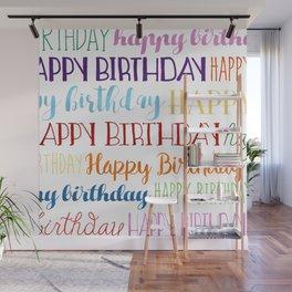 Happy Birthday | Fun & Bright Wall Mural