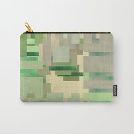 Green dreams of a little abstract forest Carry-All Pouch