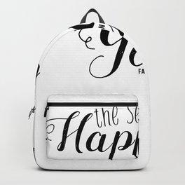 Secret Yoga happy gift spell Backpack