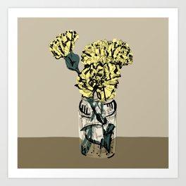 Carnation Still Life Art Print