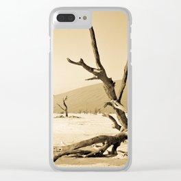 Solitude Clear iPhone Case