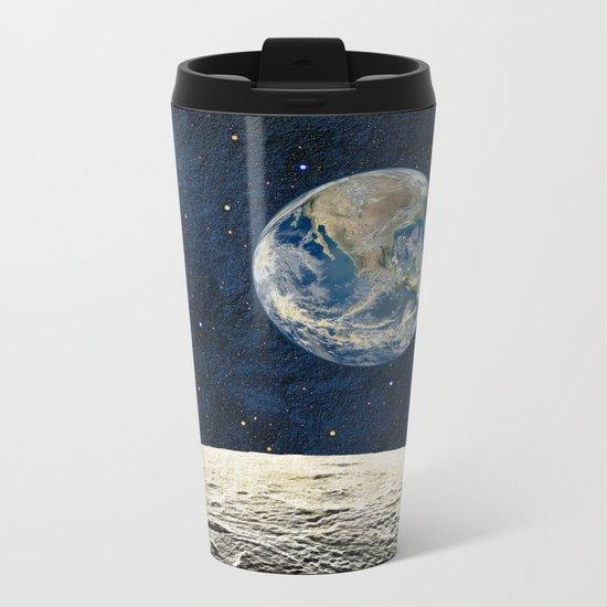 Earthrise Metal Travel Mug