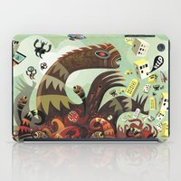 lovecraft iPad Cases featuring Tsuna me  by Exit Man