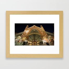 Colon Market of Valencia Framed Art Print