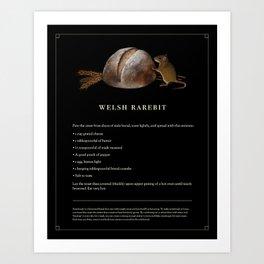 Welsh Rarebit Art Print