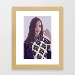 Bailee Madison Framed Art Print