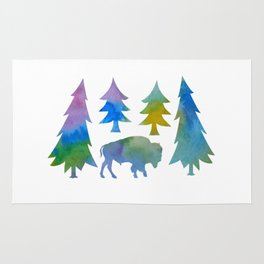 bison / buffalo Rug