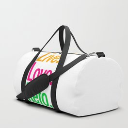 Live Love Keto Duffle Bag