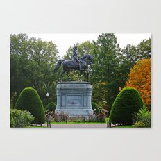 Washington Statue Canvas Print