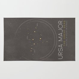 Ursa Major - The Great Bear Constellation Rug