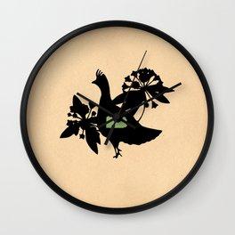 Pennsylvania - State Papercut Print Wall Clock