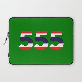555  Thai flag Laptop Sleeve