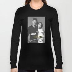 Star / Trek / Star / Wars / Crossover Long Sleeve T-shirt