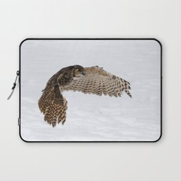 South American Horned Owl Laptop Sleeve