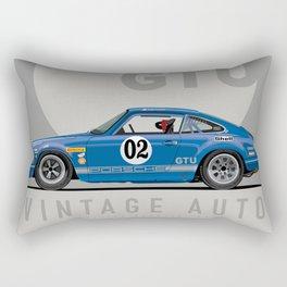 1969 911 ST Race Car Chad Plavan Rectangular Pillow