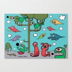 Wood of Chaos Canvas Print