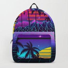 Radiant Sunset Synthwave Backpack