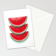 Slices of watermelon Stationery Cards