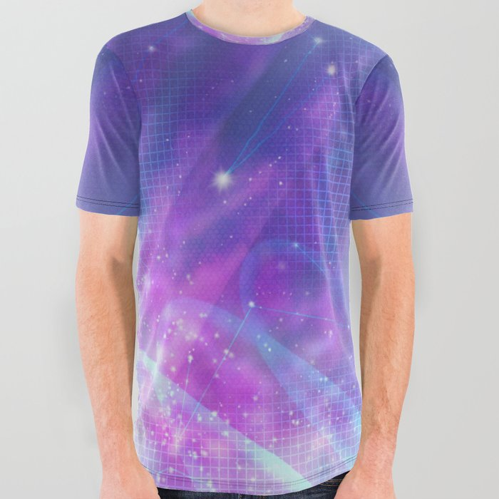 Spacebabe All Over Graphic Tee