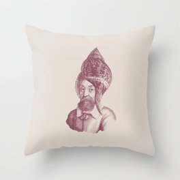 Haute Coiffure  /#5 Throw Pillow