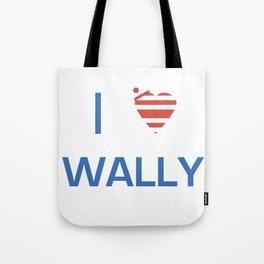 I Heart Wally Tote Bag