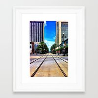 new orleans Framed Art Prints featuring New Orleans by Resistance
